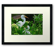 She Knows her Duty Framed Print