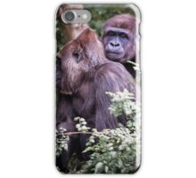 gorilla love iPhone Case/Skin