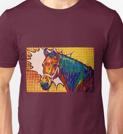 Spectra Tack by Asra Rae Unisex T-Shirt