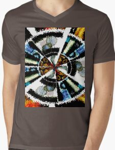 abstract t-shirt design Mens V-Neck T-Shirt