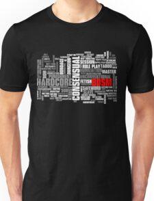 BDSM words cloud Unisex T-Shirt
