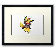11th Doctor Pika Who? Framed Print