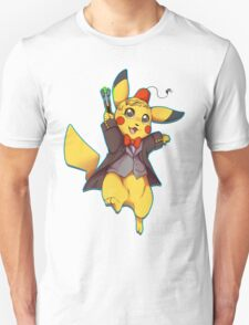 11th Doctor Pika Who? T-Shirt