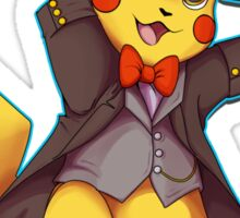 11th Doctor Pika Who? Sticker