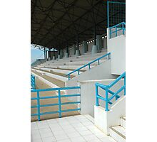 soccer podium Photographic Print