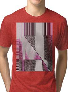 abstract t-shirt design Tri-blend T-Shirt