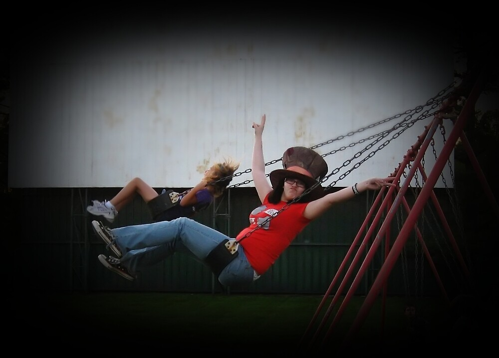 Just a-swingin'... by Tracy DeVore