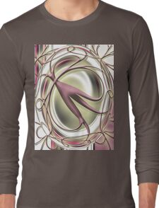 abstract t-shirt design Long Sleeve T-Shirt