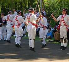 Morris dancers by StephenRB