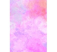 Abstract Modern Pink Design Photographic Print