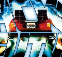 Back to the Future-Time travel Sticker