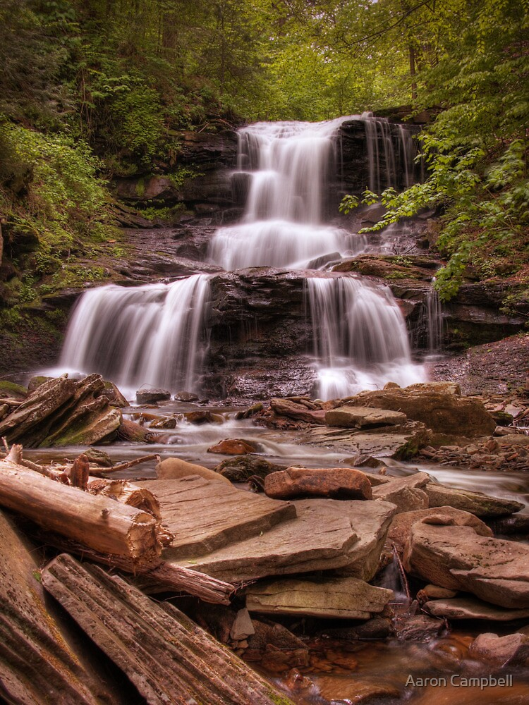 Tuscarora Falls by Aaron Campbell