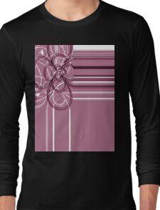 floral t-shirt design Long Sleeve T-Shirt