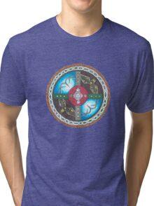 Adventure Awaits Shield Tri-blend T-Shirt