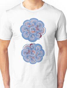 floral t-shirt design Unisex T-Shirt