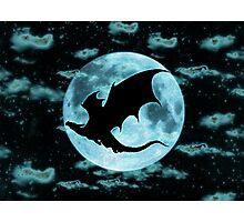 Moonlight Dragon-Smaug Photographic Print