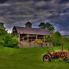 The Little Red Tractor by BigD