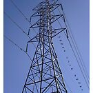 Power Line Tower by reflekshins