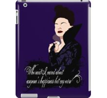 You Wanted to See Your Queen? iPad Case/Skin