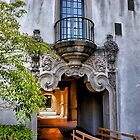Old Balcony by Frank Garciarubio