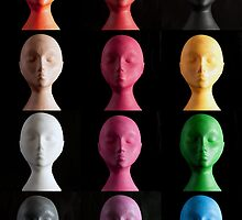 Polystyrene Heads - A Typology by Alan Organ LRPS