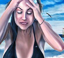 Summer Dream - A mystic beach scene  by hariscizmic