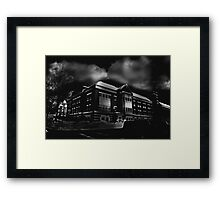 Compton Science Center Framed Print