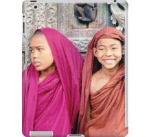 Young Monks  iPad Case/Skin