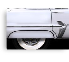 Classic - Side View of a Chrysler Plymouth Canvas Print