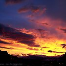 Kalispell Sunset - North by rocamiadesign