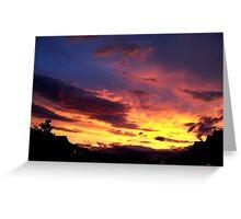 Kalispell Sunset - North Greeting Card