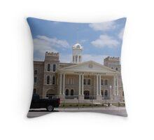 Hamilton County Courthouse Throw Pillow