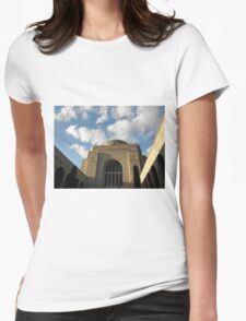 The National War Memorial, Canberra, Australia. Womens Fitted T-Shirt