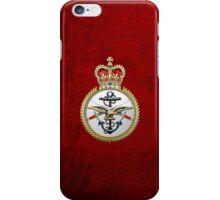 British Armed Forces Emblem 3D iPhone Case/Skin