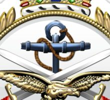British Armed Forces Emblem 3D Sticker