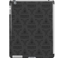 Browncoats forever, Firefly Pattern in Charcoal iPad Case/Skin
