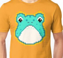 Pixel Frog - Blue Unisex T-Shirt