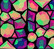 Gemstone Pattern Version Two by bacibella