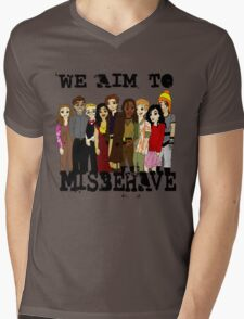 Magically Misbehaved Mens V-Neck T-Shirt