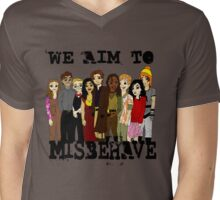 Magically Misbehaved Mens V-Neck T-Shirt