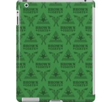 Browncoats forever, Firefly Pattern in Green iPad Case/Skin