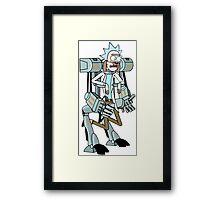 Rick and Morty Framed Print