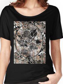 grunge t-shirt design Women's Relaxed Fit T-Shirt