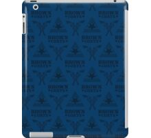 Browncoats forever, Firefly Pattern in Blue iPad Case/Skin