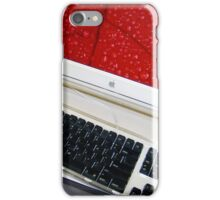 Mac in Red iPhone Case/Skin