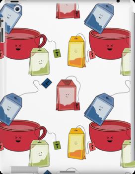 i love tea by puppaluppa