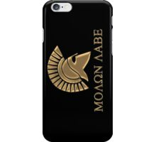 Molon labe-Spartan Warrior iPhone Case/Skin