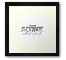 The Game - Doctors Advocate Framed Print