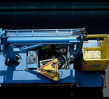 Un camion bleu passait par là... by Pascale Baud