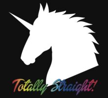 Totally Straight Unicorn by SheriffBear